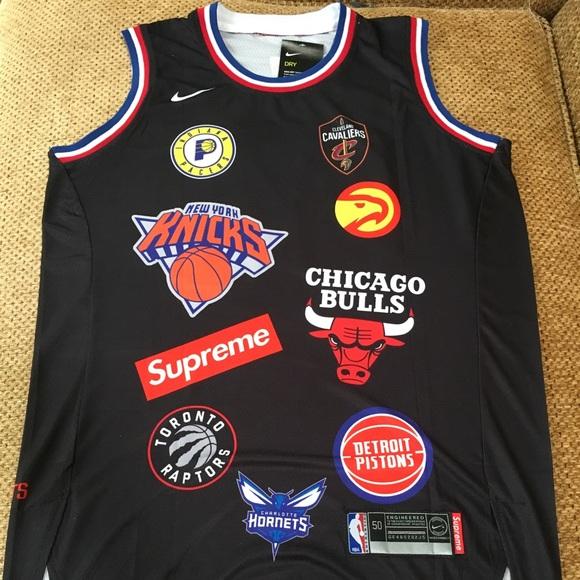 promo code 2699e 599be Supreme x NBA Jersey